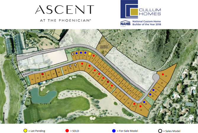 Ascent at The Phoenician Site Plan