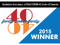 Scottsdale 40 under 40 award 2015