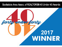 Scottsdale 40 under 40 award 2017