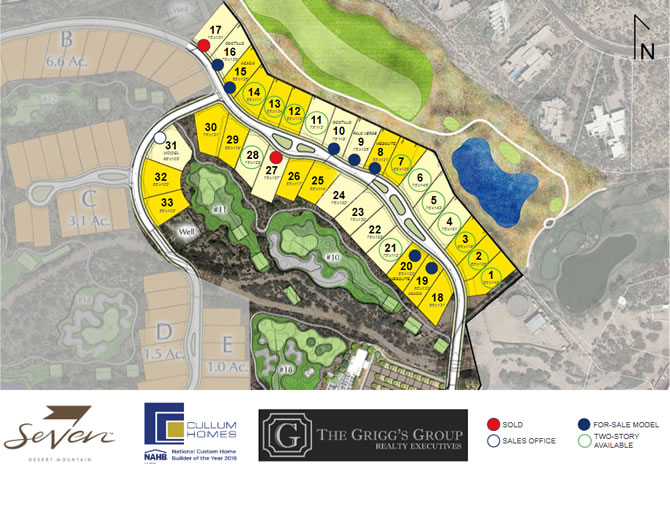 The Village at Seven Desert Mountain Site Plan