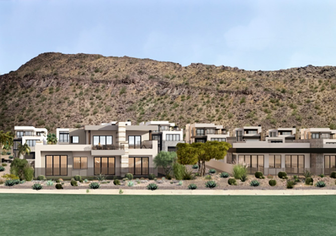 Luxury homes at The Phoenician resort
