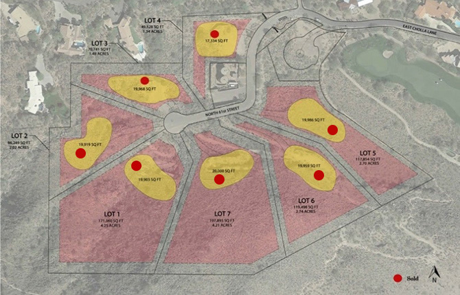 Cholla Heights Site Map