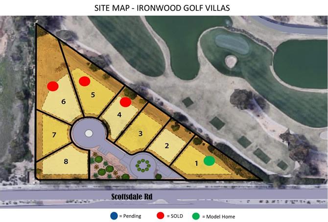 Ironwood Golf Villas Map