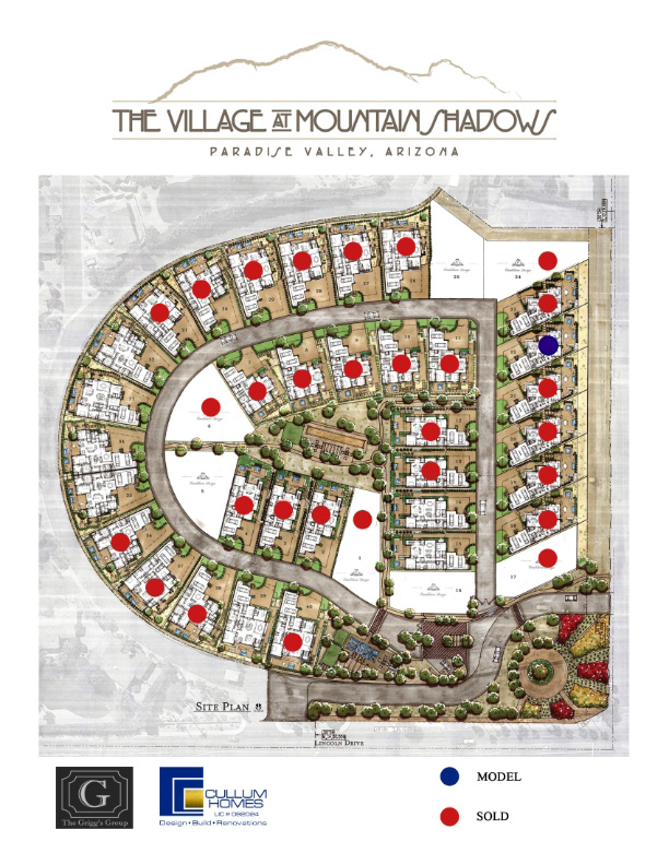 Site Map The Village at Mountain Shadows