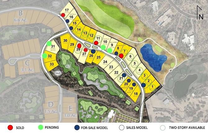 The Village at Seven Desert Mountain Site Plan